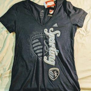 Sporting Kansas City MLS medium womens shirt NWT